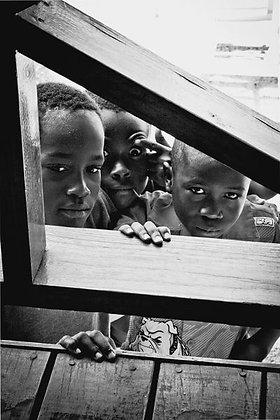 'i eye' -  3 Jamaican boys