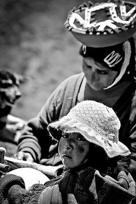 Whatchoo l9ooking at? - Inca Trail, Peru