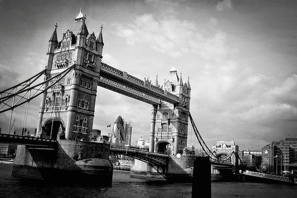 Tower Bridge & The Gherkin (The Bullet)