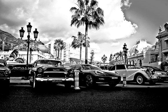 Vintage, mod & luxury cars - Place du Casino