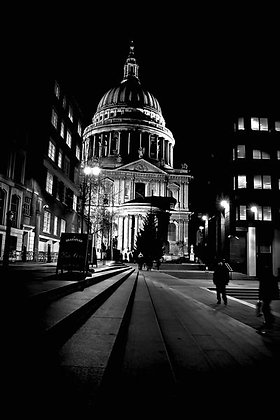 St Paul's Cathedral - early evening - EC4