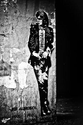 Street art - Music icon - Jim Morrison