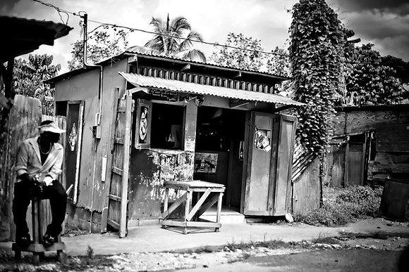 Roadside bar - en route - Kingston to Ochi