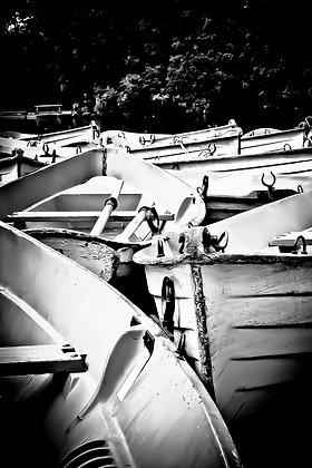 Old rowing boats (1) - Lac Bois de Bologne