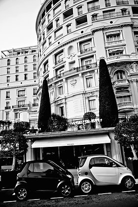 'Prada' their parking - Monte Carlo