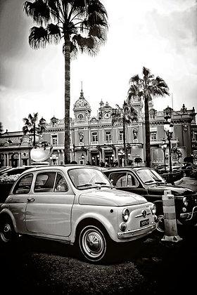 Vintage mini fiats - Place de Casino Monaco