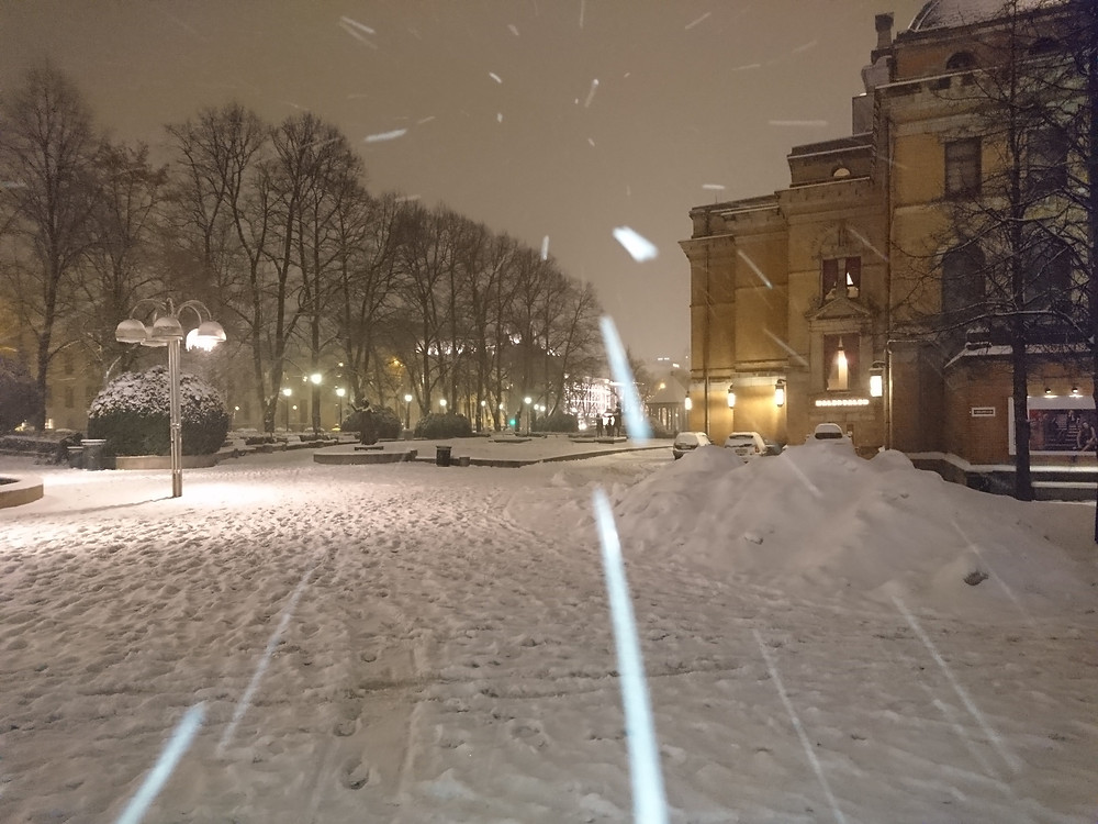Oslo in the Snow!