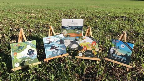 Livres Jarvin Crew Jo Bonobo Prisca Orca Roxana Carlos Albatros