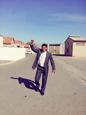 Inspired by Nelson Mandela, Mbeketeli is ready to take on the world