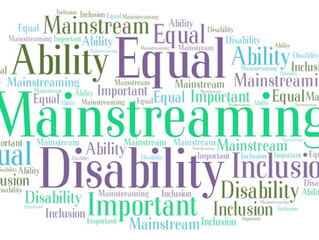 Sneak Peek into Disability Mainstreaming