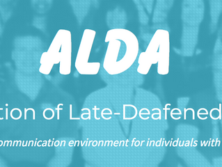 Organizational Spotlight: Association of Late Deafened Adults (ALDA)