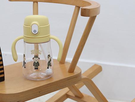 2in1 트라이탄 빨대컵 360mL 옐로우
