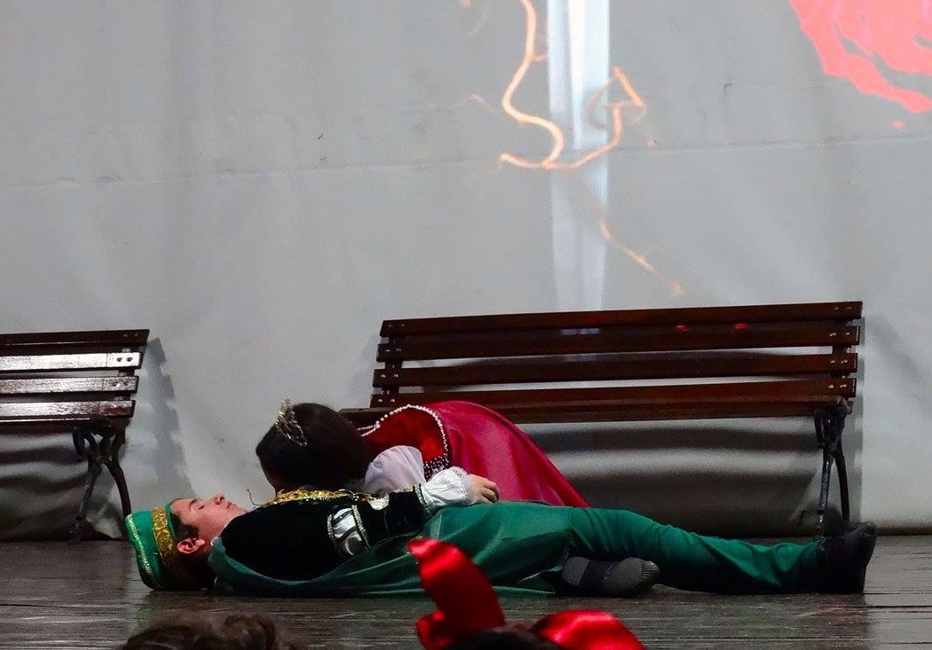 Romeu e Julieta Morte
