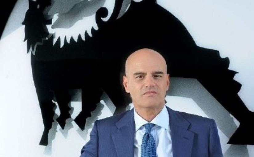 Eni's CEO Claudio Descalzi