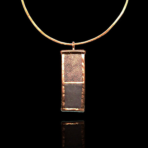 CACAO PENDANT AND NECKLACE
