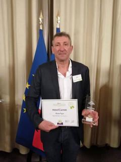 Trophée national Agrilocal catégorie fournisseurs de produits laitiers.