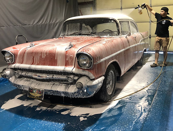 1957 Chevrolet Foam Bath
