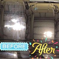 Before and After Buffing