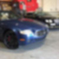 Maserati and Bentley