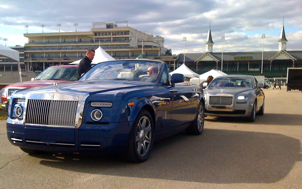 Rolls Royce, Churchill Downs,Concours d'Elegance