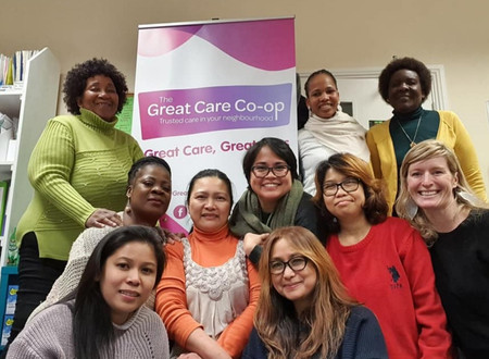 Migrant women found and launch Ireland's first and only Carers Cooperative