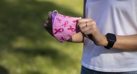 Breast Cancer Ireland release pink ribbon face masks