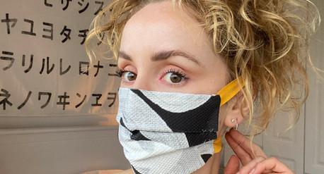 Irish designer creates reusable face-masks with 15% of proceeds going to Dublin Rape Crisis Centre