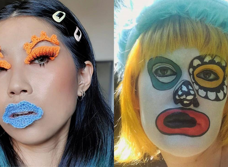 If you like 'ugly' make-up you'll love these Instagram accounts