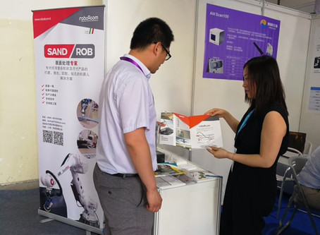 SandRob At Sample Exhibition In CHINA