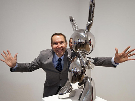 """JEFF KOONS, The Record-Breaking Artwork """"RABBIT"""" And The Use Of Roboticom's Robot For Carving"""