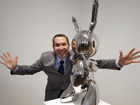 "JEFF KOONS, The Record-Breaking Artwork ""RABBIT"" And The Use Of Roboticom's Robot For Carving"