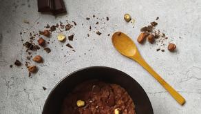 Porridge chocolat & noisettes