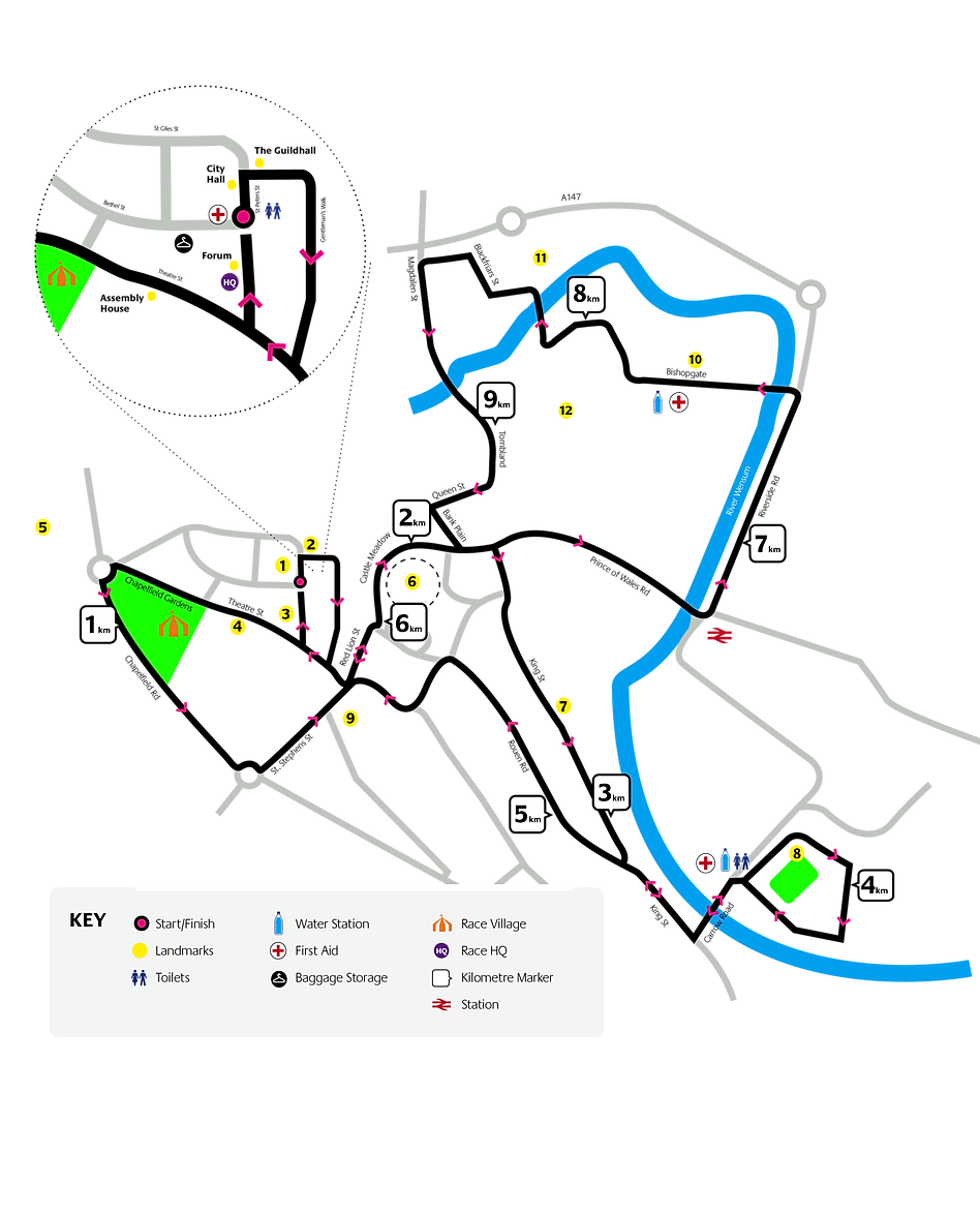 run-norwich-route-map