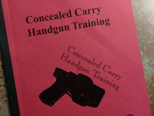 Next Concealed Carry Class