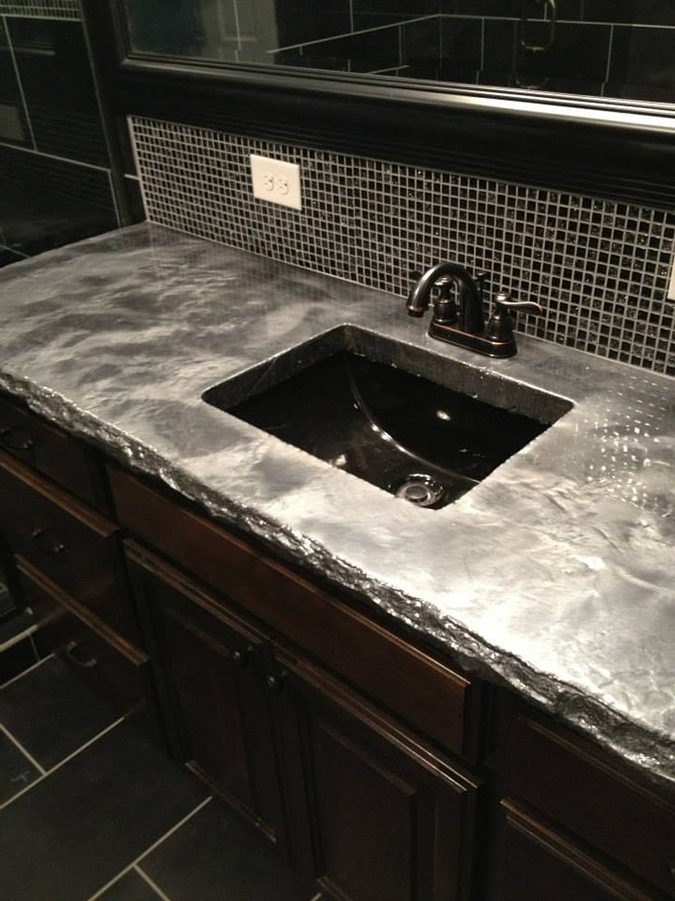 Owens concrete staining oklahoma city oklahoma for How durable are concrete countertops