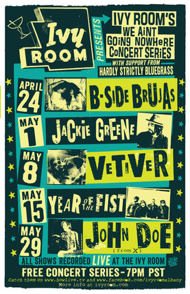 Ivy Room's We Ain't GOing Nowhere concert series
