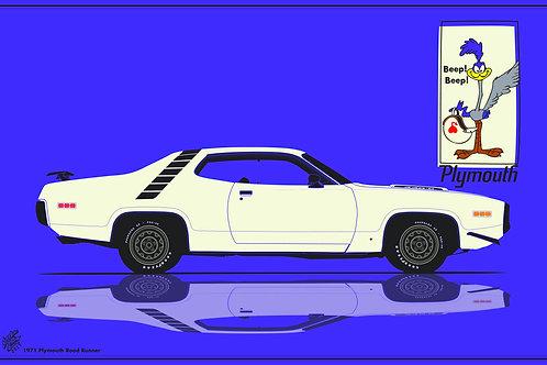 71 Roadrunner poster