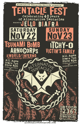 Tentacle Fest Gig Poster