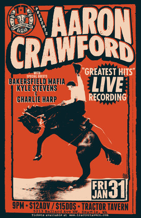 Aaron Crawford Greatest Hits Live Recording