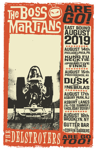 The Boss Martians East Coast Tour 2019