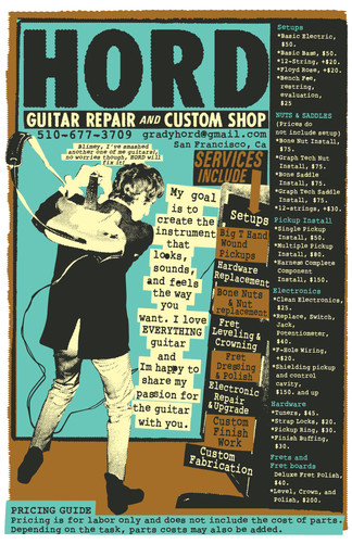 Hord Guitar Repair Shop