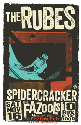 The Rubes Gig Poster