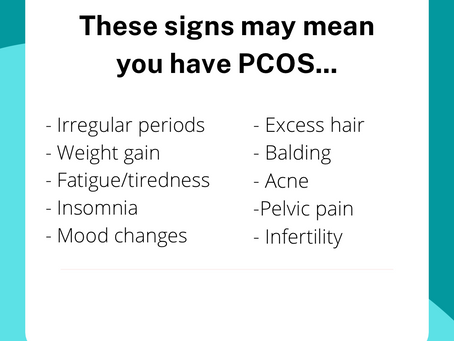 Top 10 Signs That You May Be Suffering from PCOS