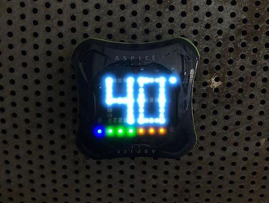 #Aspice o novo padrão de termômetro para