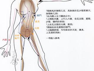 #首 や #気管支 の不調には #陰維脈 を調整する #内関 という #ツボ が有効な場合も