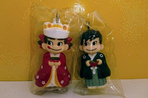 ペコちゃんポコちゃんセットチャーム 結婚式和装