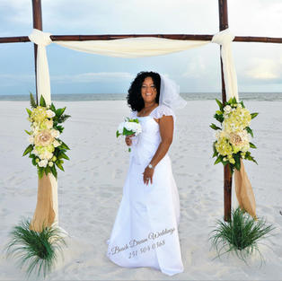SWEET ELEGANCE BEACH WEDDING