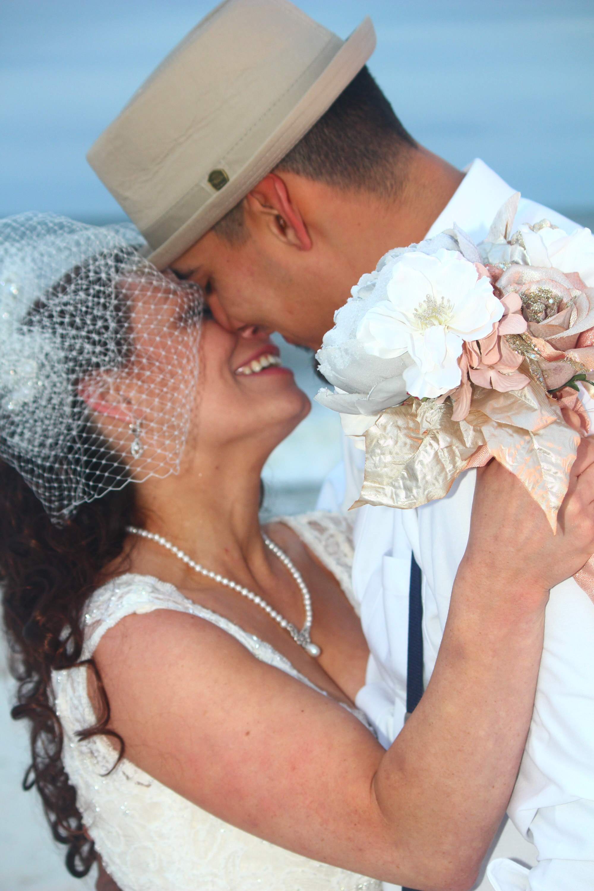 Stunning Beach Wedding Photos