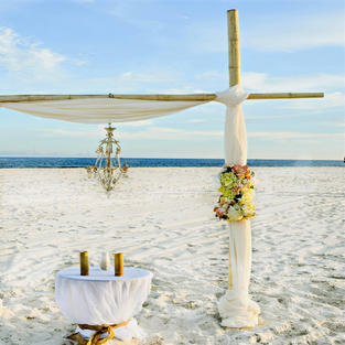SIMPLY CHIC BEACH WEDDING