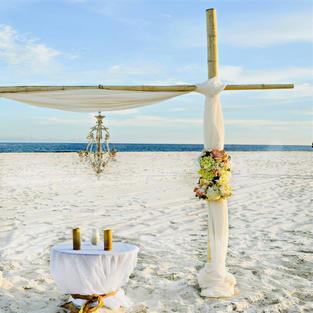 SIMPLY CHIC BEACH WEDDING